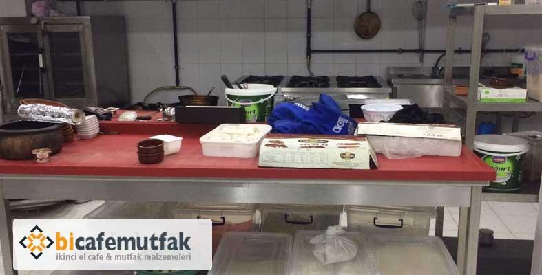 ikinci el endüstriyel mutfak