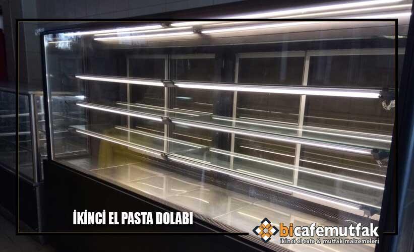 2. El Pasta Teşhir Dolabı Alan Yerler