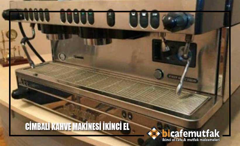 Cimbali kahve makinesi ikinci el